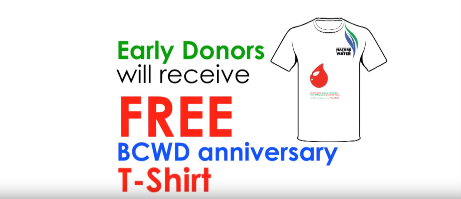 Save lives, donate blood! BCWD Bloodletting 2018