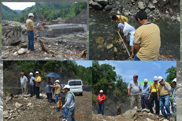 BCWD Board of Directors conducts ocular inspection of the Butuan City Bulk Water Supply Project