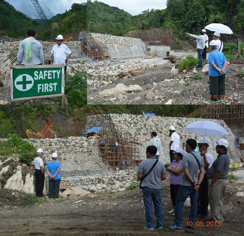 BCWD Board of Directors visit PPP Project for Bulk Water Supply