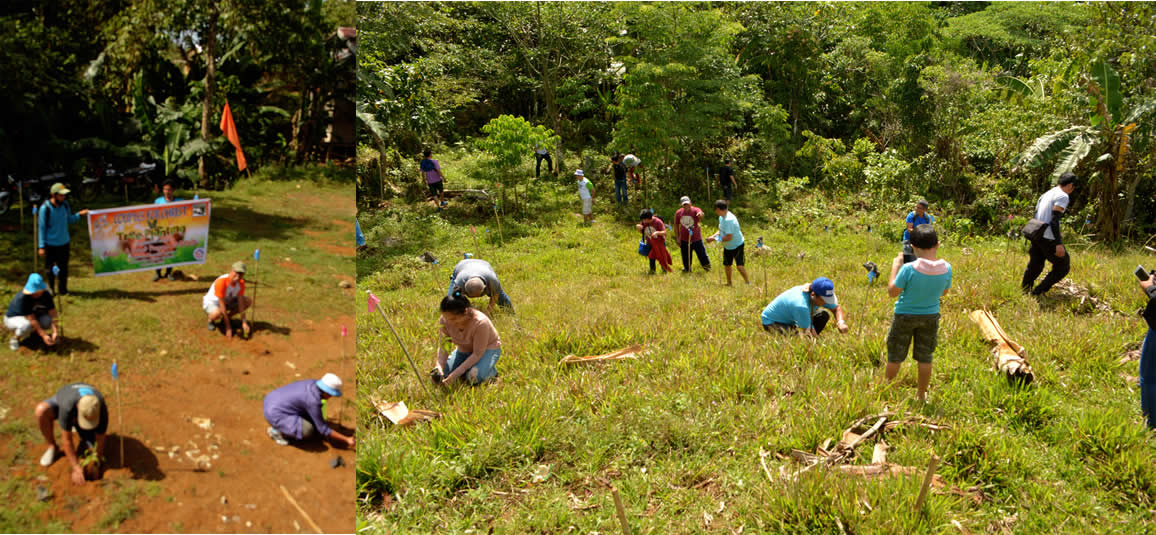 Couples for Christ adopts a forest in Taguibo Watershed